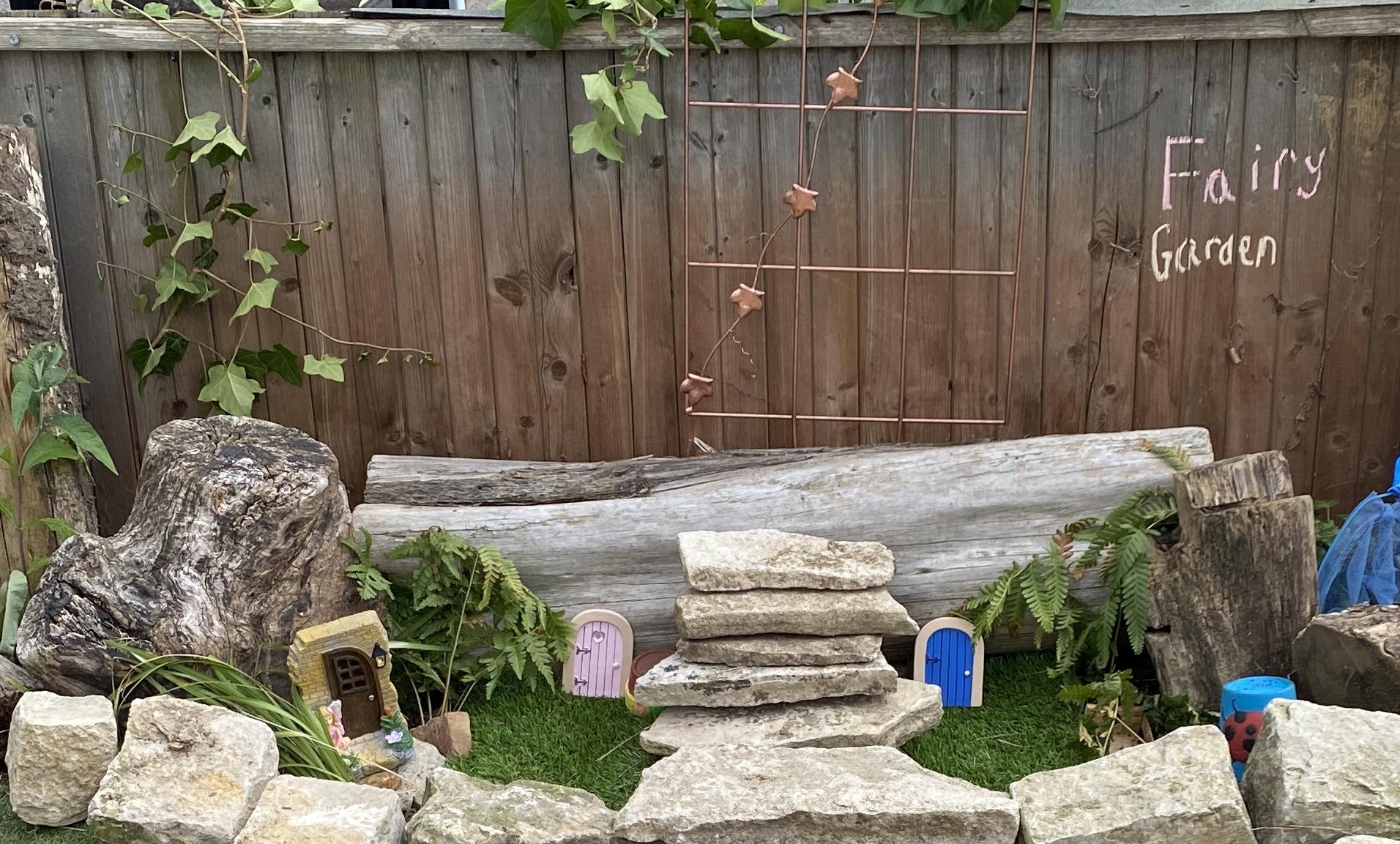 Little Bees fairy garden