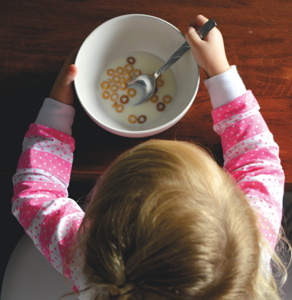 childs breakfast