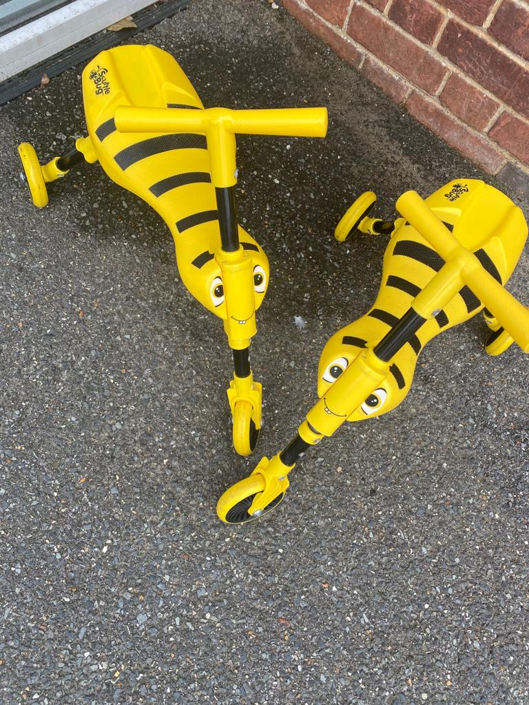 Little Bees Scooters - Beaufort Community Centre